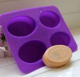 Moulage ovale de traitement au four d'arbre de paradis de forme de savon de DIY de moulages de silicones de moulage fabriqué à la main de gâteau