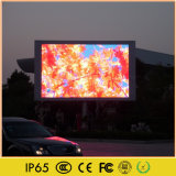 Painel do vídeo da imagem do anúncio ao ar livre do diodo emissor de luz