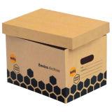 Сверхмощные блокируя коробки хранения архива Corrugated