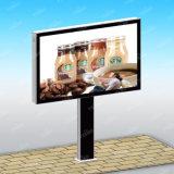 Fabrication faite sur commande de panneau-réclame de défilement de la publicité extérieure de qualité superbe