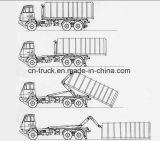 camion di immondizia idraulico dell'elevatore dell'amo del contenitore dell'elevatore 16-18m3
