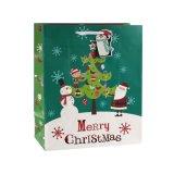 Рождественский парад пингвинов на холсте бумажных мешков для пыли, подарочный бумажных мешков для пыли, бумажных мешков для пыли