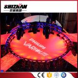 Sistema de aluminio del braguero de la elevación de la iluminación de la etapa del fabricante de China pequeño