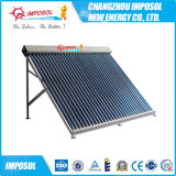 Calentador de agua de energía solar de la presión del anticongelante