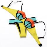 Bikiní caliente del ganchillo del neopreno del triángulo del estilo de la manera para la señora (HWCY911-27)