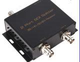 2 ripetitore Port del divisore 3D/HD/SD-SDI di SDI fino alla cassa nera 1X2 del metallo 1080P