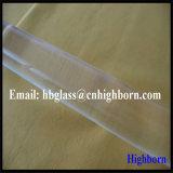 Bâtons en verre de quartz transparent de résistance thermique