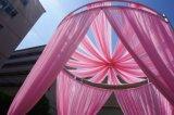 Розовый круглые трубы и салфетка для использования вне помещений Романтическая свадебная украшения