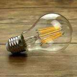 Ampoule du cru DEL de la lampe B22 E27 A60 Dimmable de la lumière 4W 6W 8W de globe d'Edison DEL