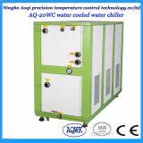 Haute efficacité industrielle refroidi par eau refroidisseur à eau pour utilisation en plastique