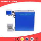 Élément en acier portatif d'inscription de laser de fibre de Pulsemetal avec la source de laser de Raycus