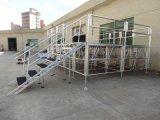 Портативный алюминиевый этапе платформы школы при производительности при отклонении от нормы для установки вне помещений