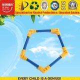 Figura geometrica giocattoli dei giocattoli popolari di formazione delle particelle elementari