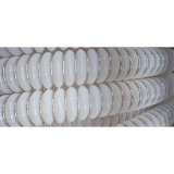 Hergestelltes bestes haltbares transparentes gewölbtes Plastikgefäß des TeflonPTFE