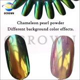 Shinning Chameleon Русалки Unicorn лак для ногтей искусства Chrome Mirroe пигмента