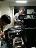 Máquina de pulir de la válvula de motor del CNC para el corte