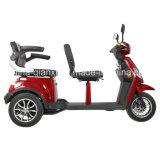 Elektrische Autoped met drie wielen met Zetel Twee