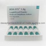 Jida Stsの標準的なグルタチオンの注入の/Effectiveの皮のより白いグルタチオン1800mg
