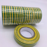Зеленый цвет ленты PVC электрический при желтая изолированная нашивка
