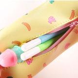 Papeterie en cuir 1PCS de cadeaux de plumier d'école d'unité centrale de Kawaii de trousses d'écolier d'école d'école de crayon de filles mignonnes de poches