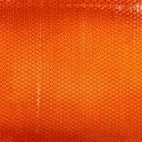 Impresiones personalizadas publicidad al aire libre en forma de panal reflectante material adhesivo naranja