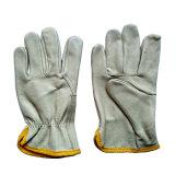 Производство зерна промышленной безопасности стороны драйверы рабочие перчатки из натуральной кожи