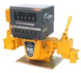 Medidor de fluxo giratório do combustível do deslocamento positivo