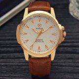 H346高級で一義的な腕時計のスケールデザイン防水水晶人の腕時計