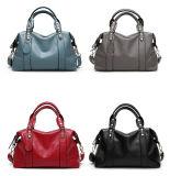 Saco causal de Boston dos sacos das mulheres da bolsa das senhoras do vintage (WDL0957)