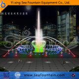 Fuente colorida del baile de la música de los multimedia
