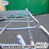 Гальванизированная сплетенная высокой напряженностью панель сетки с крюком