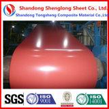 PPGI Prepainted Galvanzied bobinas de acero de alta calidad Foofing