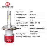 Markcars 8400lm極度の明るい車LEDのヘッドライトH4