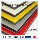 PPG et Becker Peinture panneau composite aluminium (ALB-015)