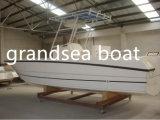 27FT/Velocidade 8.3m barco de pesca de fibra de vidro para venda