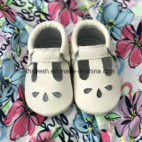 Neugeborener weicher lederner Großhandelsbabyschuh