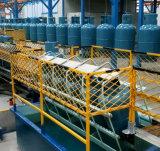 Het Geheel die van de Gasfles van LPG het Testen van de Lekkage van de Lijn Machine produceren