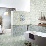 Azulejo Polished del blanco de la pared del edificio de la porcelana 300 x 600