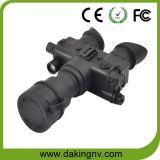 Lunettes de vision nocturne de Gen2+/binoculaire avec l'oculaire et la sortie vidéo réglables D-G2073 (avec lentille 3X)