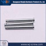 OEM China Speld van de Schroef van het Staal van het Aluminium van de Leverancier de Zilveren Zwarte Lange Korte