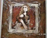 Peintures sur huile d'abstraction de la peinture