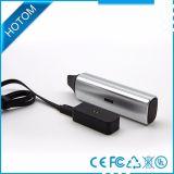 LED 가벼운 E 담배 건조한 나물 기화기는 주문 로고를 받아들인다