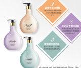 Gel de nutrição de seda 500ml/PCS do chuveiro do perfume do creme da lavagem do corpo de 3 estilos