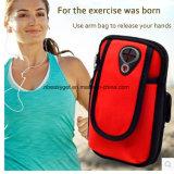 Fita desportiva para o braço da caixa porta-celular tira de banda com bolsa de fecho do exercício móvel executando o Smartphone de exercícios iPhone 6 7 8 o Android Samsung Galaxy10479 ESG