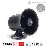 Сирена охранной сигнализации, звуковой сигнал сирены охранной сигнализации