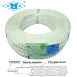 Alambre del silicón de la trenza de la fibra de vidrio para el horno microondas