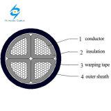 0.6/1kv 4 cable de transmisión de aluminio de la base XLPE