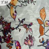 300GSM (FEP011)の2016の花そして縞のビロードファブリック