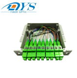 divisore ottico del PLC della fibra 1X2/1X4/1X8/1X16/1X32/1X64