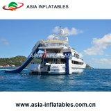 Ausgezeichneter Entwurfs-aufblasbares Yacht-Plättchen, Luxuxboots-Yacht-Wasser-Plättchen für Boot